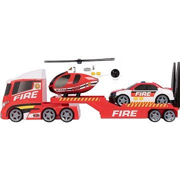 Teamsterz požární přeprava helikoptéry se zvukem a světlem (5050841689716)