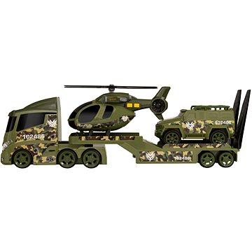 Teamsterz vojenská přeprava helikoptéry se zvukem a světlem (5050841684216)
