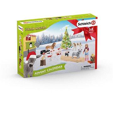 Schleich Adventní kalendář Schleich 2019 - Domácí zvířata (4055744030840)