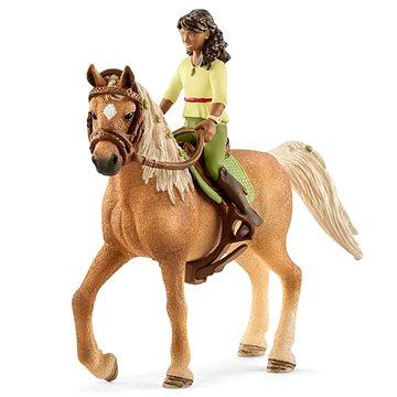Schleich 42517 Černovláska Sarah a kůň Mystery (4055744036163)