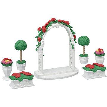 Sylvanian Families Město - květinová výzdoba s bránou (5054131053614)