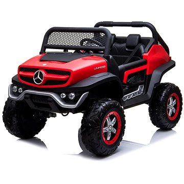 Mercedes Unimog červený (8586019941517)