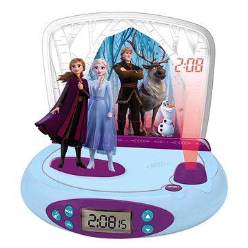Lexibook Frozen II Hodiny s projektorem a zvuky (3380743080352)