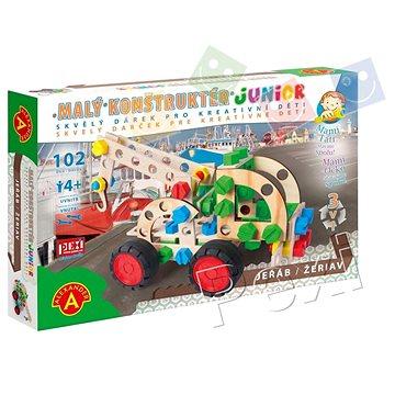 Malý konstruktér Junior 3v1 - Jeřáb (5906018021950)