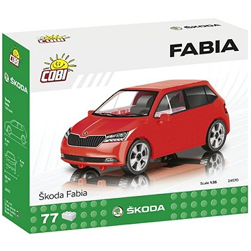 Cobi Škoda Fabia model 2019 1:35 (5902251245702)
