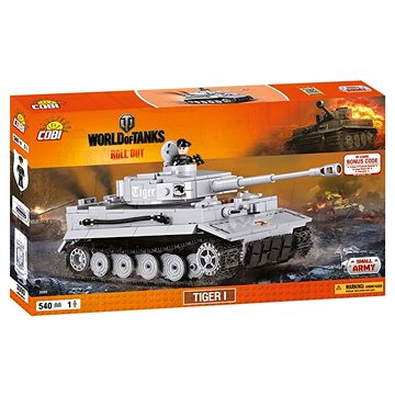 Cobi 3000 World of Tanks Tiger I (5902251030001)