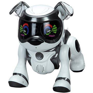 Teksta robotické štěně ovládané hlasem – černé (ASRT5902251794088)