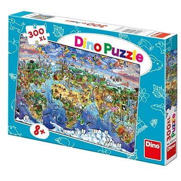 Dino Ilustrovaná Mapa Sveta (8590878472112)