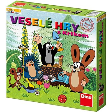 Dino Veselé Hry s Krtkem (8590878623590)