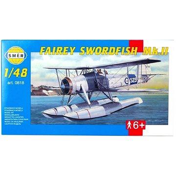 Směr Model Kit 0818 letadlo – Fairey Swordfish Mk.II (8594877008181)