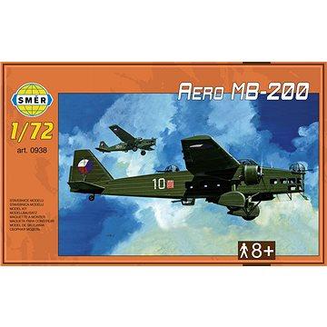 Směr Model Kit 0938 letadlo – Aero MB-200 (8594877009386)