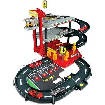 Bburago Ferrari Parking Garage se 2 auty (4893993312047)
