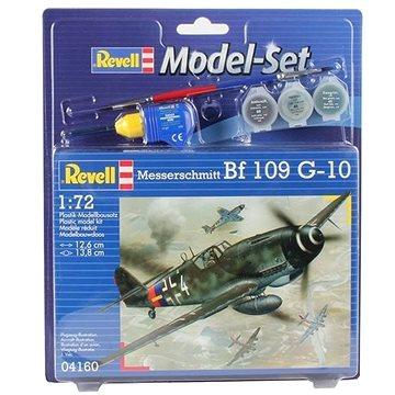 Revell Model Set 04160 letadlo – Messerschmitt Bf 109 G-10 (4009803641607)