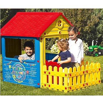 Dolu Dětský zahradní domeček s plotem (8690089030139)