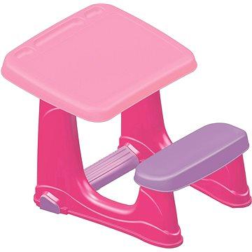 DOLU Dětský stolek s lavicí, růžový (8690089070647)