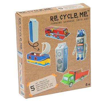 Súprava Re-cycle me pre chlapcov – kartón od mlieka(8716569029728)
