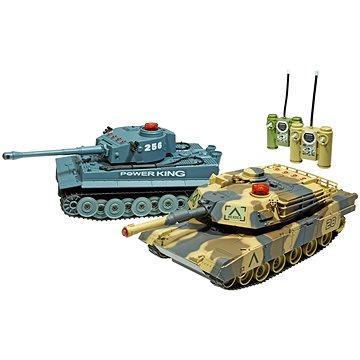 Bitevní set Tiger a Abrams - 2 tanky (6928442987984)