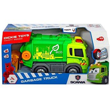 Dickie Auto Happy popelářské 25 cm (4006333013010)