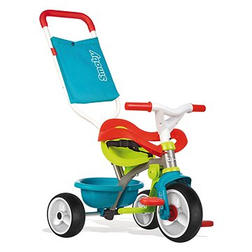 Smoby Trojkolka Be Move Confort biele kolesá(3032167404015)