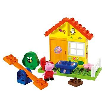 PlayBig Bloxx Prasátko Peppa Zahradní domek (4004943570732)