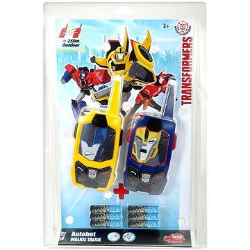 Dickie Transformers Vysílačky Walkie Talkie, 2 druhy (4006333012198)