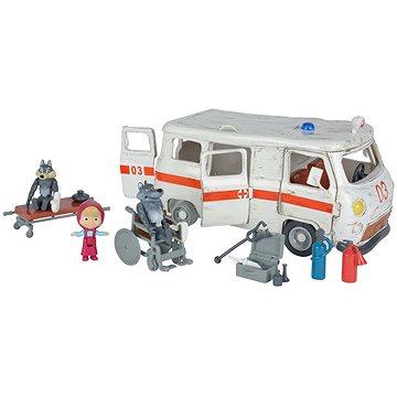 Simba Máša a medvěd Ambulance hrací set (4006592998639)