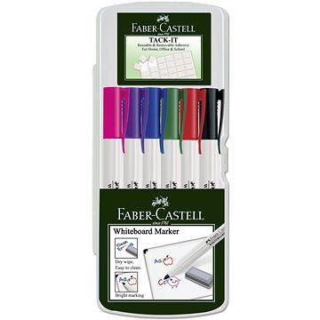 Faber-Castell Slim Whiteboard Marker, 6 ks (9555684616388)