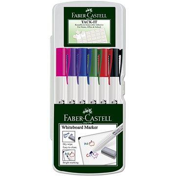 Faber-Castell Slim Whiteboard Marker, 6 ks (9555684616401)