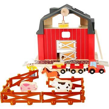 Small foot Farma s příslušenstvím (4020972108005)