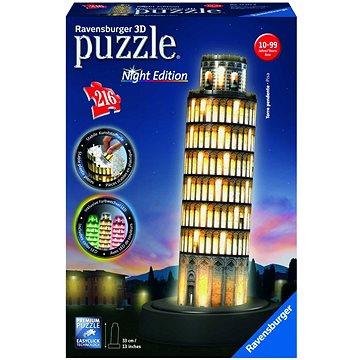 Ravensburger 3D 125159 Pisa (Noční edice) (4005556125159)