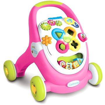 Smoby Cotoons Walk&Play růžové (3032161103044)