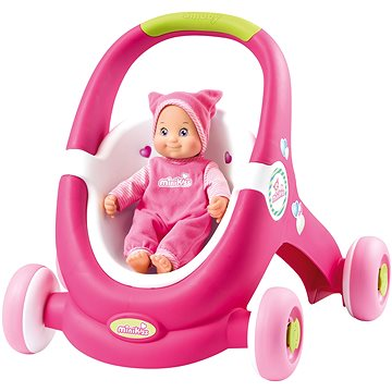 Smoby Minikiss Baby Walker 2v1 (3032162102015)