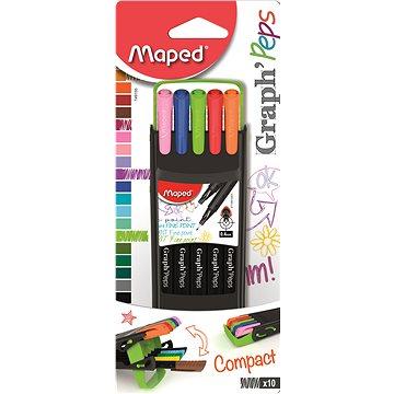 Maped Graph Peps Compact 0,4mm, 10 barev (3154147491553)
