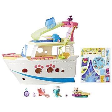 Littlest Pet Shop Výletní loď se 3 zvířátky (5010993376438)