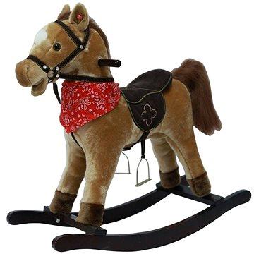 Kůň houpací hnědý světlý (8592190516116)