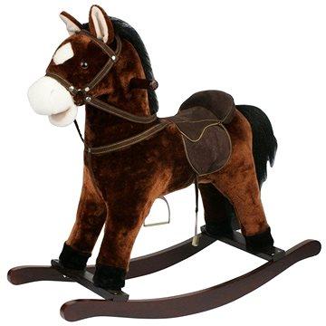 Kůň houpací hnědý tmavý (8592190516147)