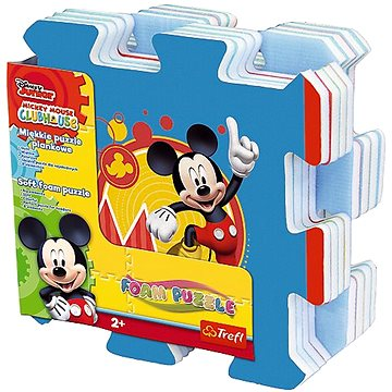Pěnové puzzle Mickey (5900511605358)
