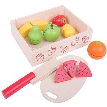 Bigjigs Krájanie ovocia v krabičke(691621174722)