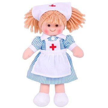 Bigjigs zdravotní sestřička Nancy 25 cm (691621350119)
