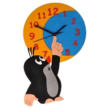 Dodo Dětské dřevěné hodiny Krtek a měsíc (8594155462179)