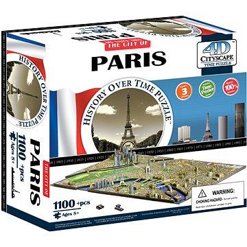 4D Puzzle Cityscape Time panorama Paríž (8590331008087)