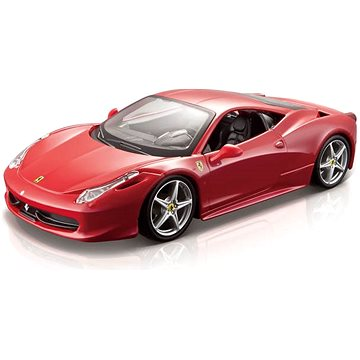 Bburago Ferrari Race & Play 458 Italia 1:24 (4893993260034)