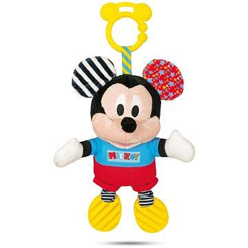 Clementoni Mickey plyšový se zvuky a úchytem (8005125171651)