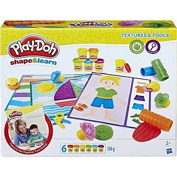Play-Doh Textury & Nástroje (anglická verze) (5010993325627)