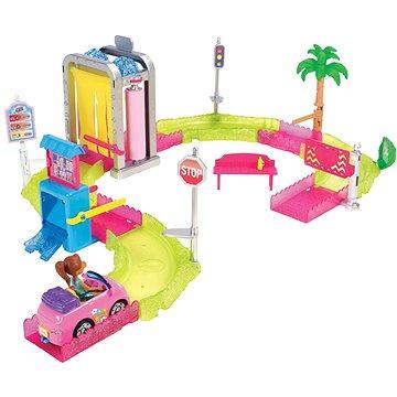 Barbie Mini vozomyčka herní set (0887961530001)