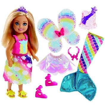 Barbie Dreamtopia Chelsea Pohádkové oblečky 1 (ASRT0887961533538)