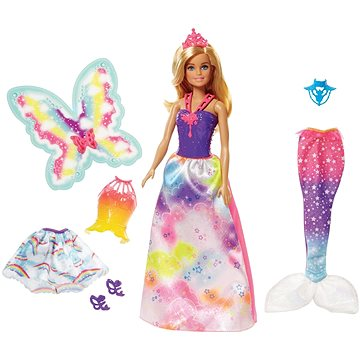Barbie Víla a pohádkové oblečky (0887961533620)