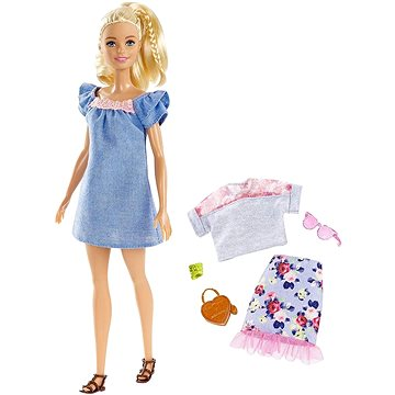 Barbie Modelka s doplňky a oblečky 99 (ASRT0887961535099)