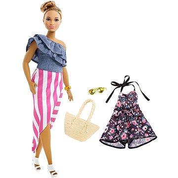 Barbie Modelka s doplňky a oblečky 102 (ASRT0887961535099)