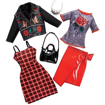 Barbie Dvoudílný set oblečení FKT28 (ASRT0887961551686)